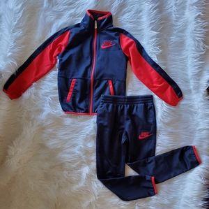 Nike 2piece track suit